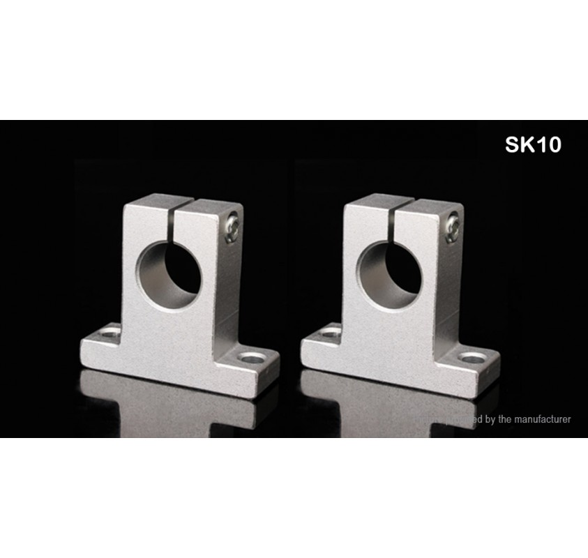 SK25 4 PCS 25mm Linear Rail Shaft Support FOR XYZ Table CNC Router Milling